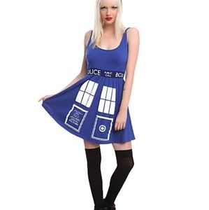 Doctor Who Tardis cosplay dress